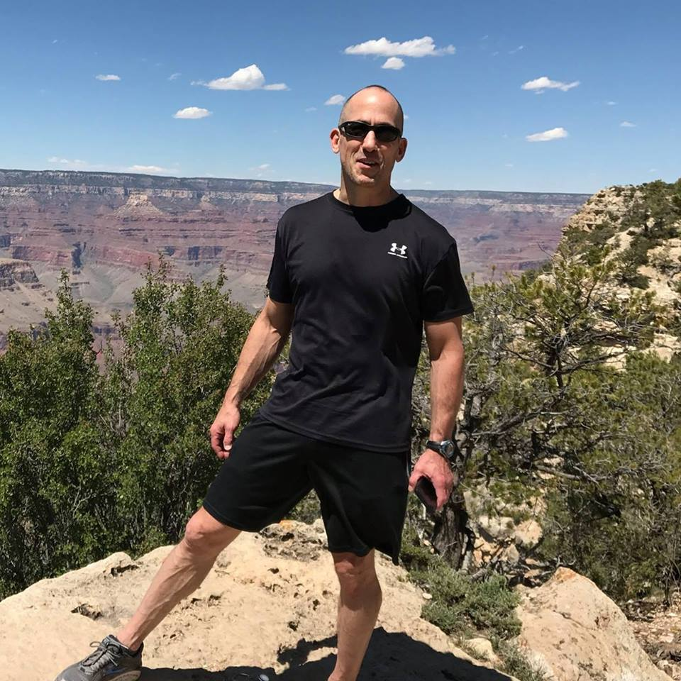 Dr. Dan Mikeska at the Grand Canyon