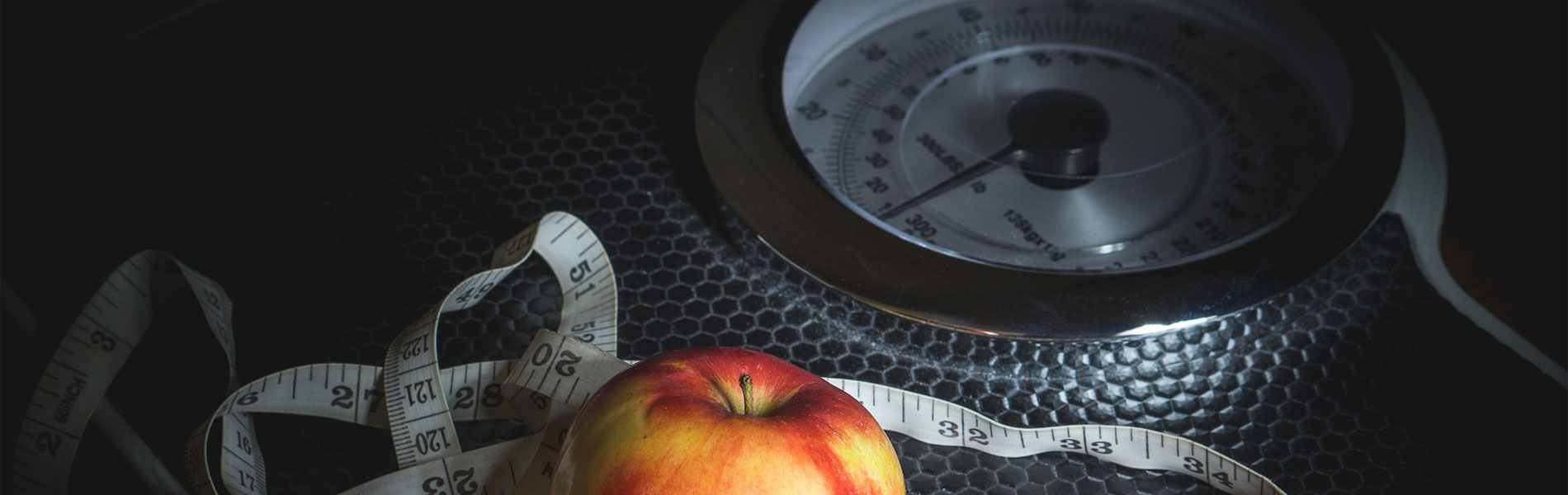scale and apple